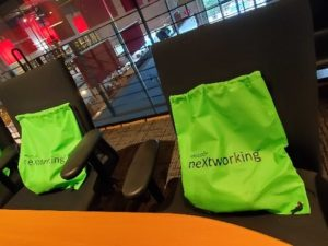 Nextworking event swag bags